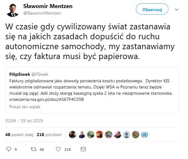 Tweet Mentzen